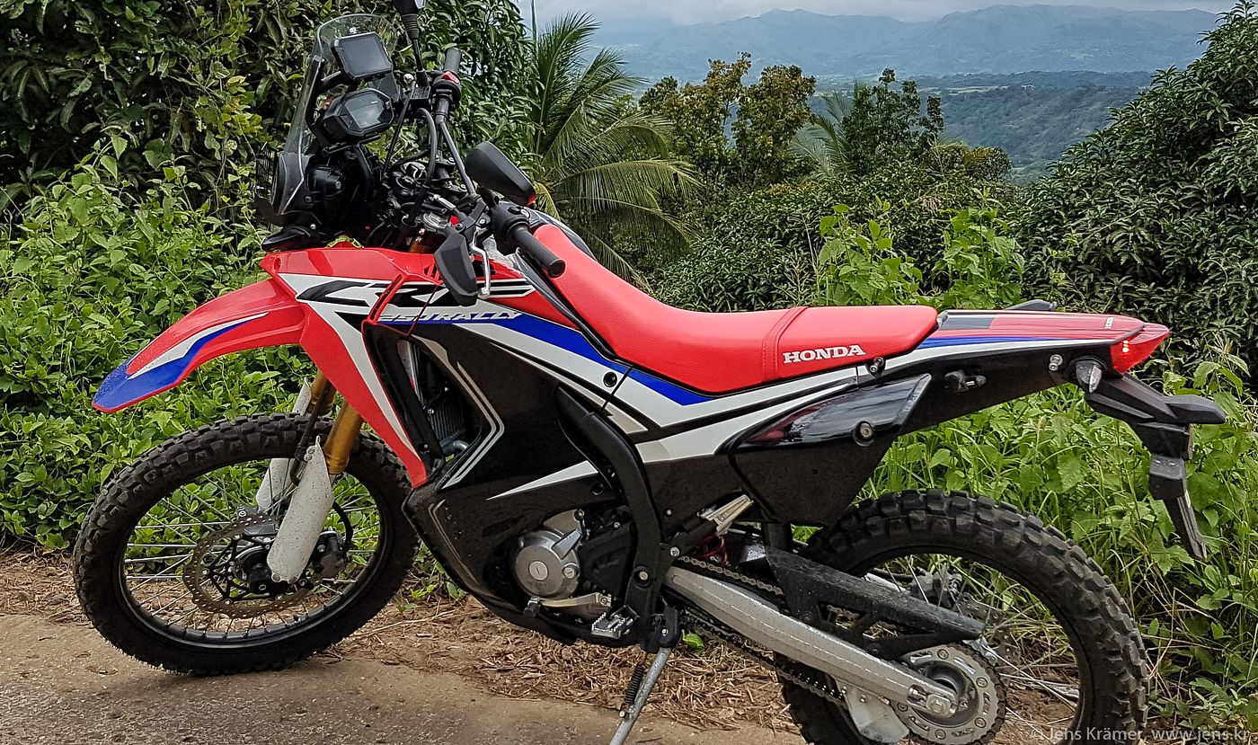 Honda CRF 250 Rally - fresh from the dealer
