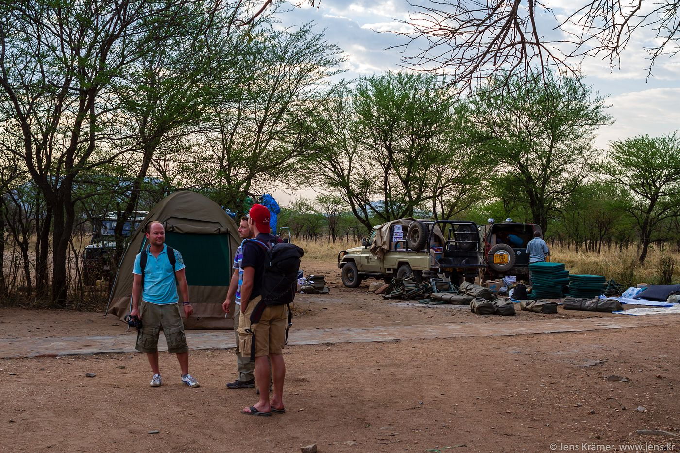 Our camp site in Serengeti National Park