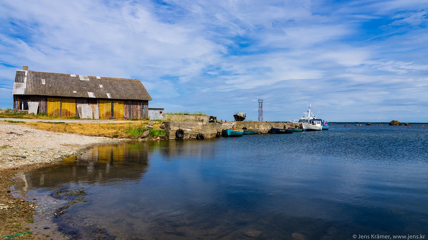 Small port near Nõva