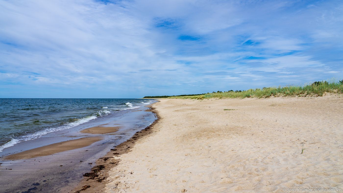 Beach close to Nõva