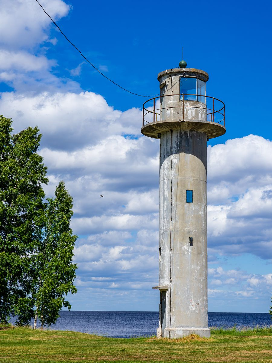 Lighthouse at Lake Peipus