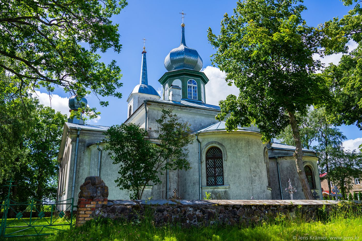 Church near Lake Peipus