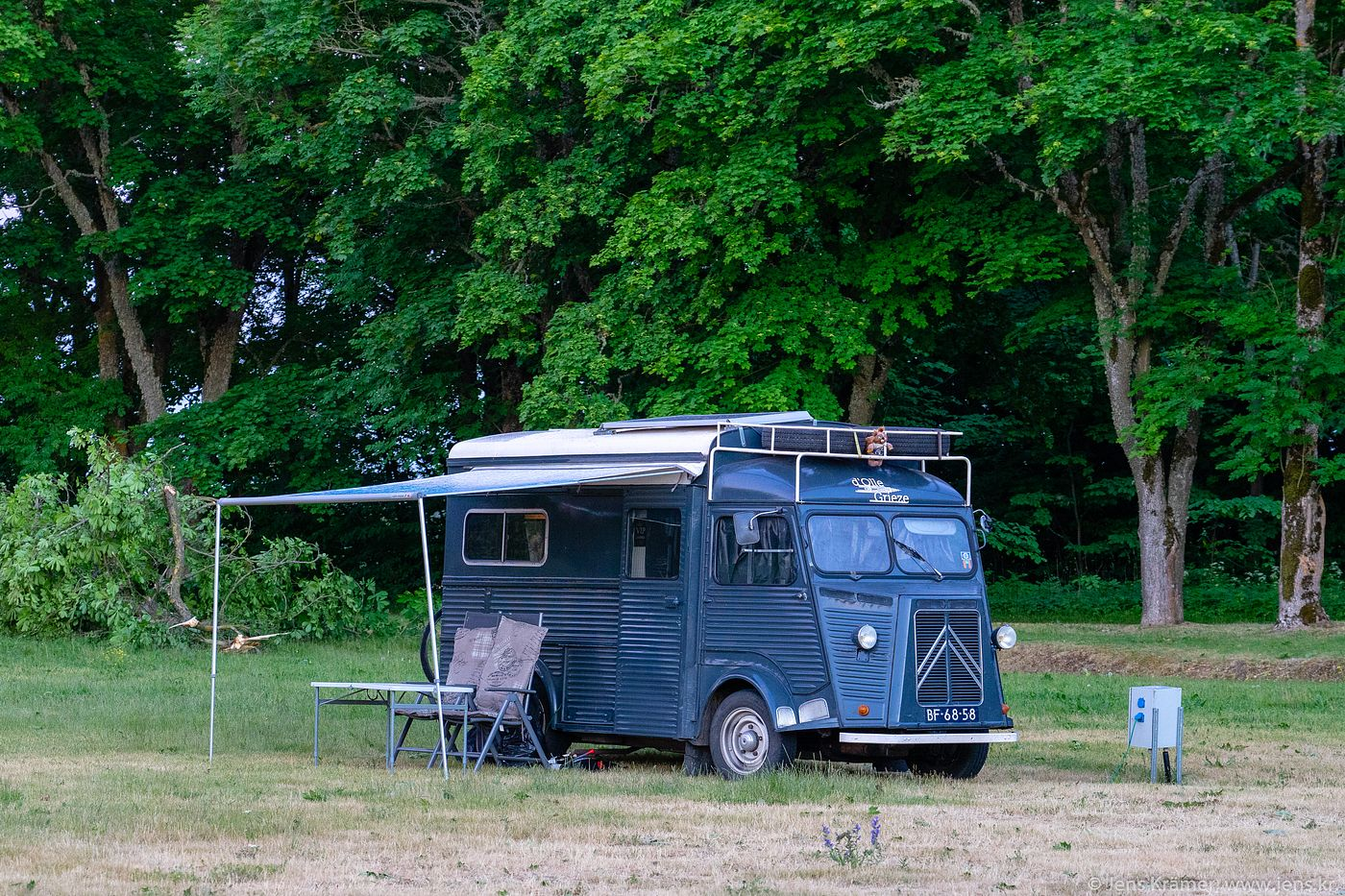 French camper van