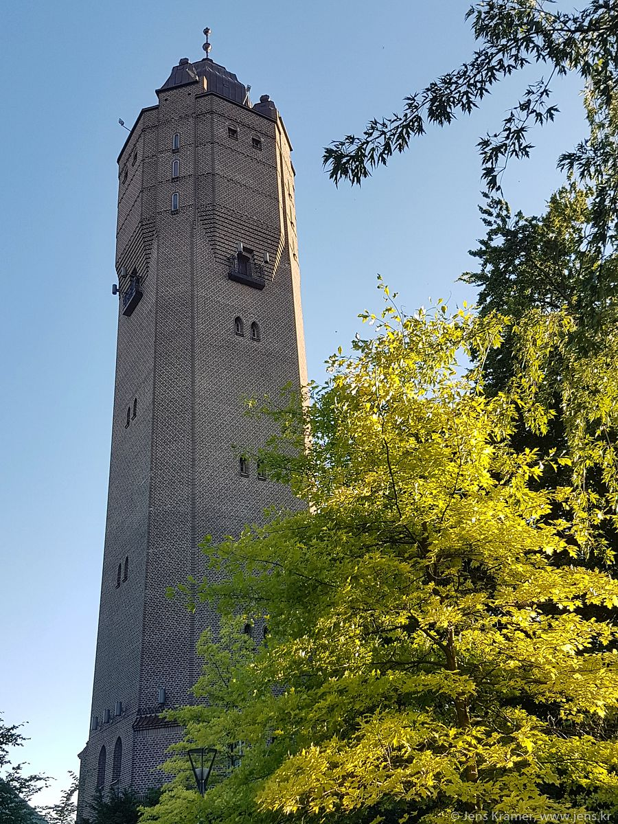The old water tower in Trelleborg